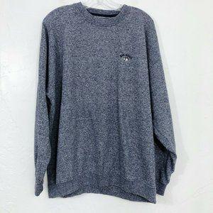 Bigs Dogs Crewneck Pullover Sweater Sweatshirt